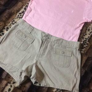VINT POLO JEANS CO. Khaki Shorts